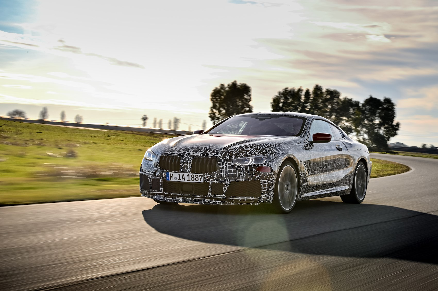 new 2018 bmw 8 series coupe to be unveiled at le mans by car magazine. Black Bedroom Furniture Sets. Home Design Ideas