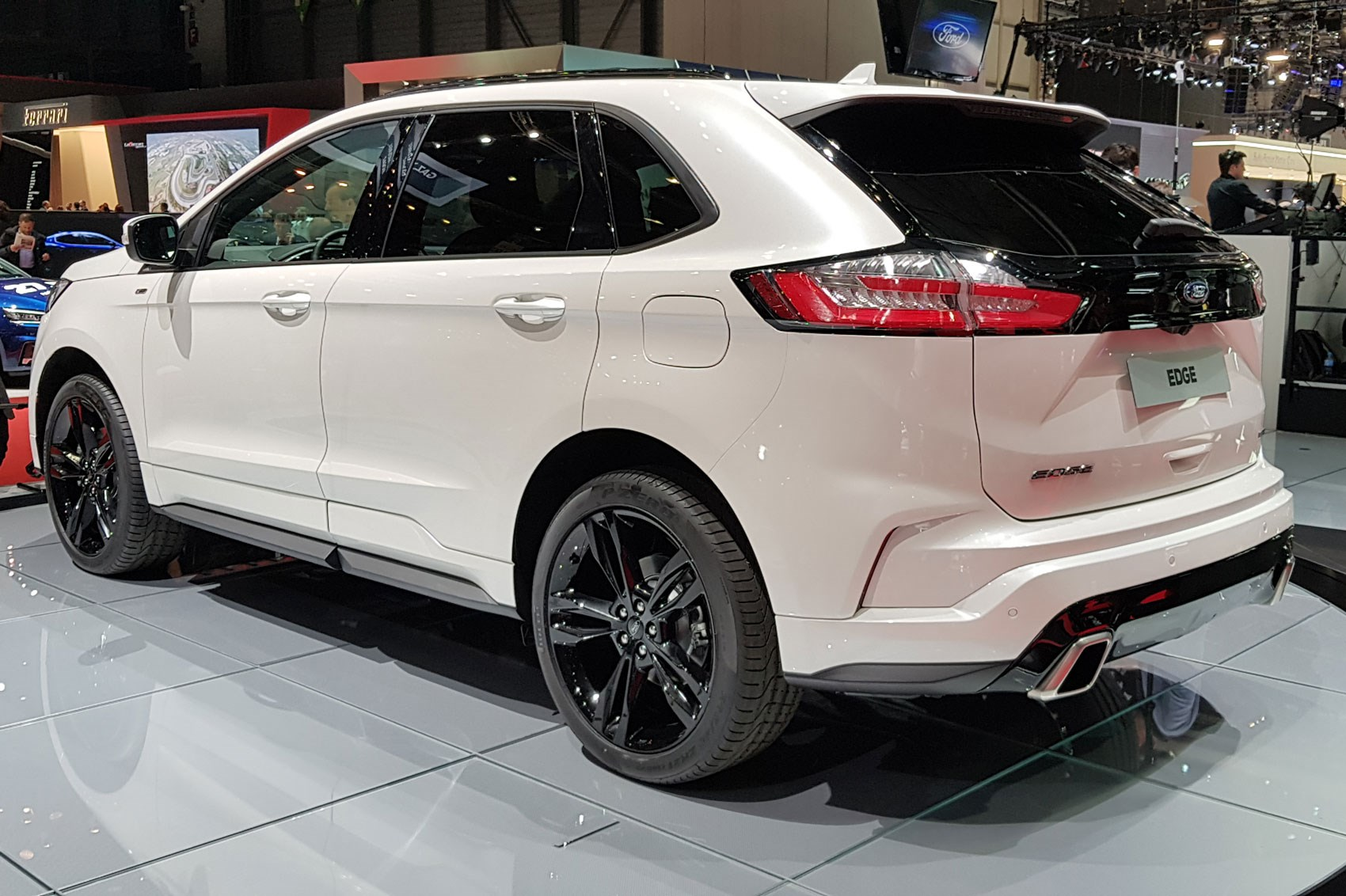 New Ford Edge Updated Suv Arrives At Geneva 2018 Car Magazine