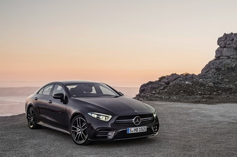 The new Mercedes-AMG CLS 53 shown at 2018 Detroit motor show NAIAS