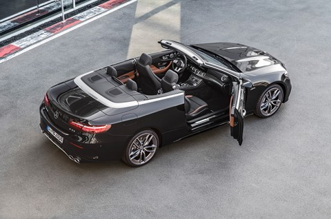 The E-class gets the AMG 53 treatment too: here's the new E53 Cabriolet