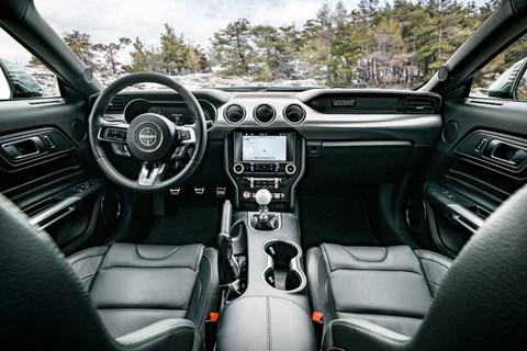 Mustang Bullitt interior