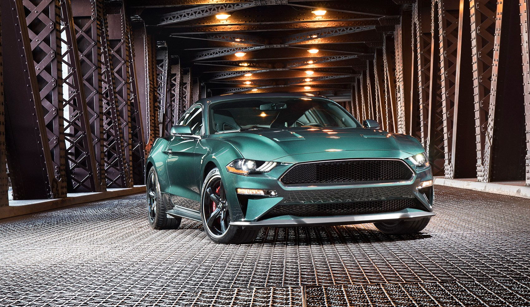 Designed to celebrate half a century since bullitt the new 2019 ford mustang