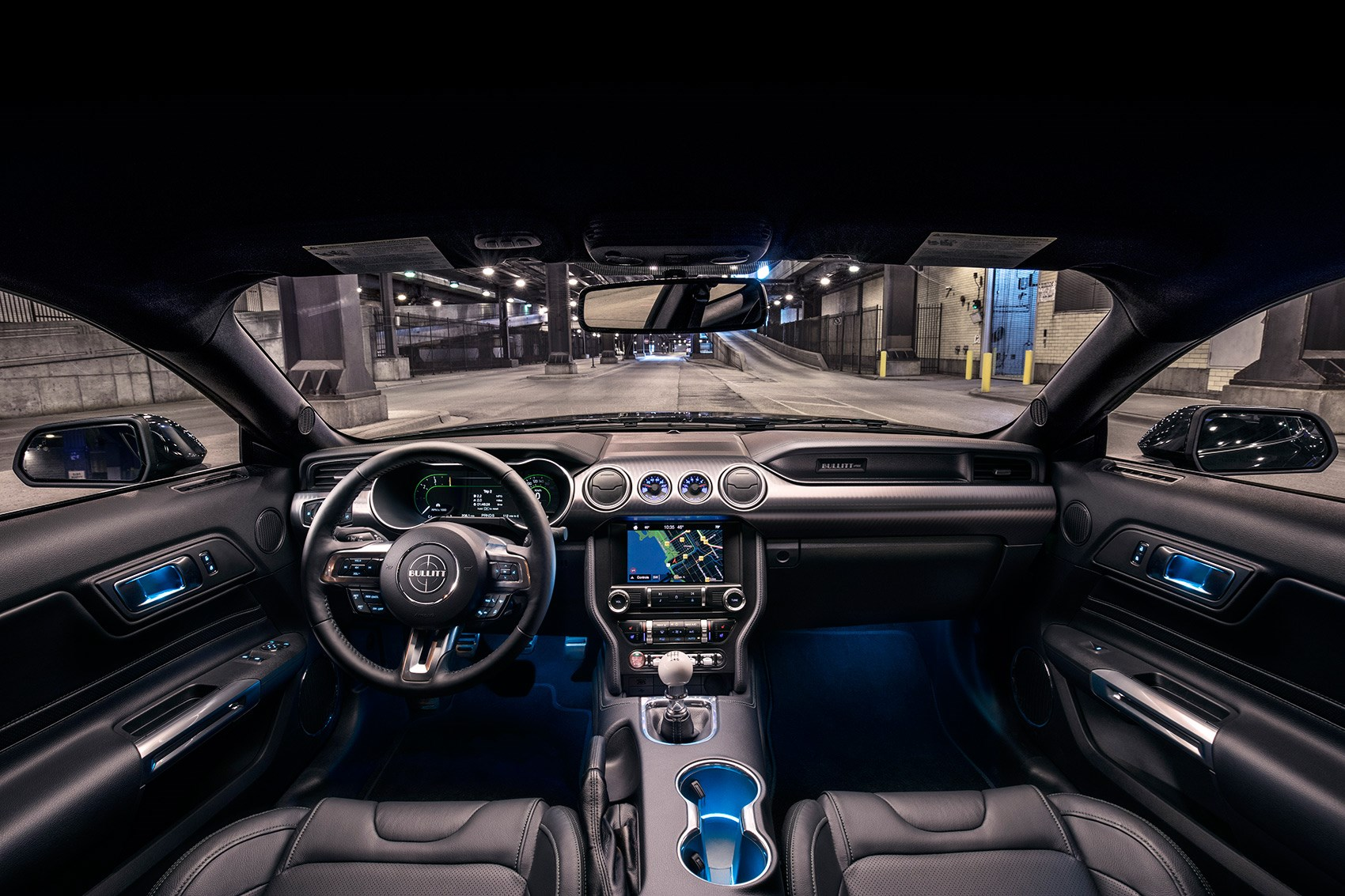 Inside The Interior Of 2019 Ford Mustang Bullitt