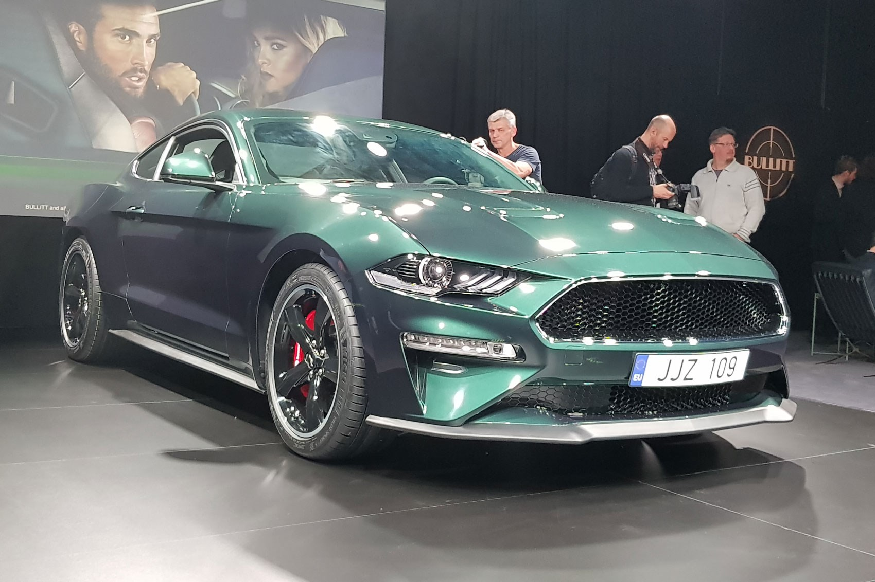 Ford mustang bullitt sold for 300000 at barrett jackson charity auction in january 2018