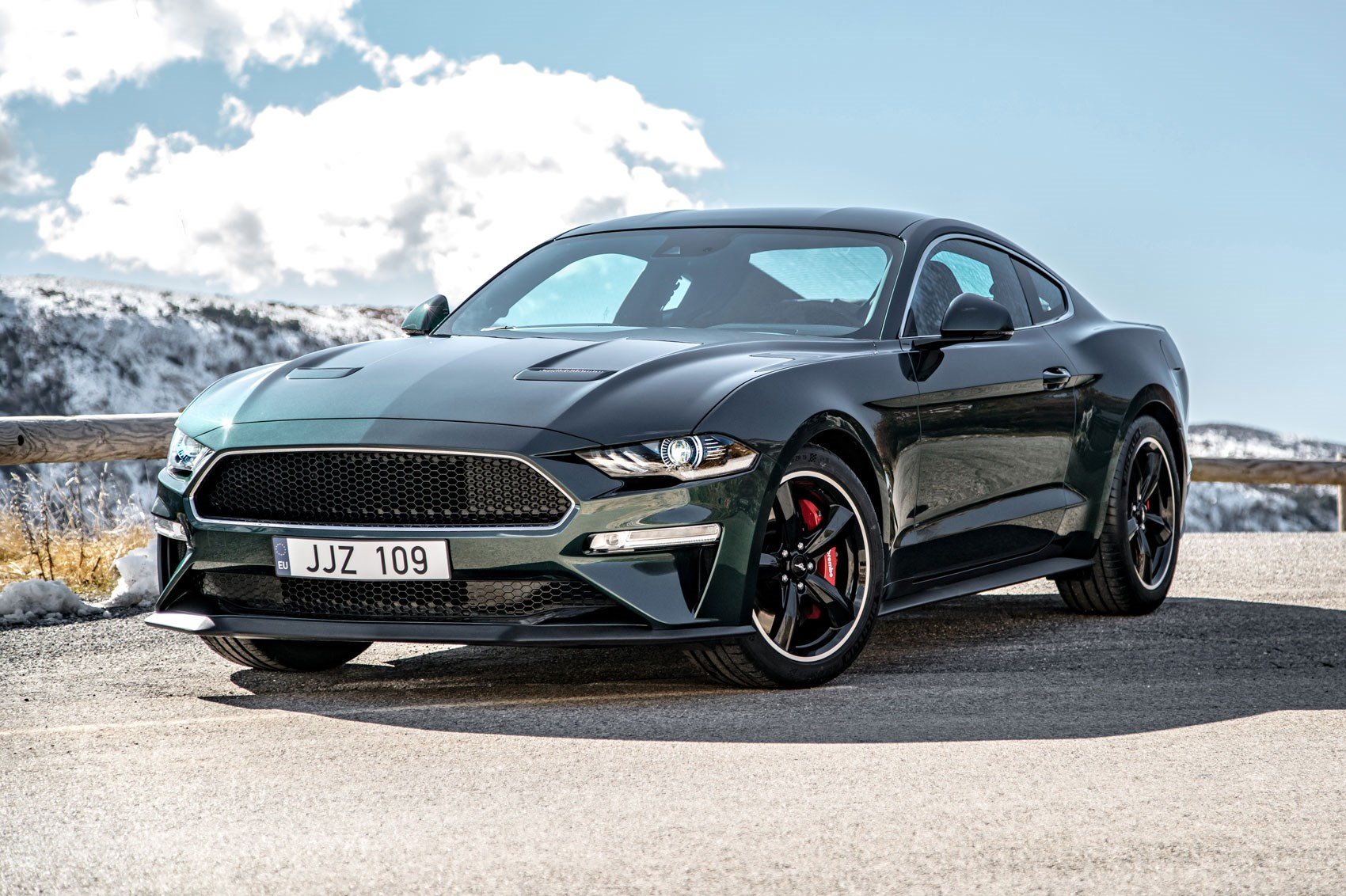 New 2019 ford mustang ford mustang bullitt sold for 300000 at barrett jackson charity auction in january 2018
