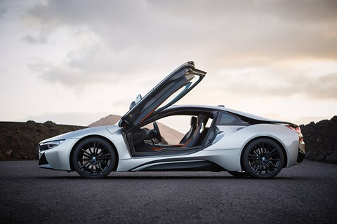 New 2018 BMW i8 Coupe: prices from £124k  in the UK