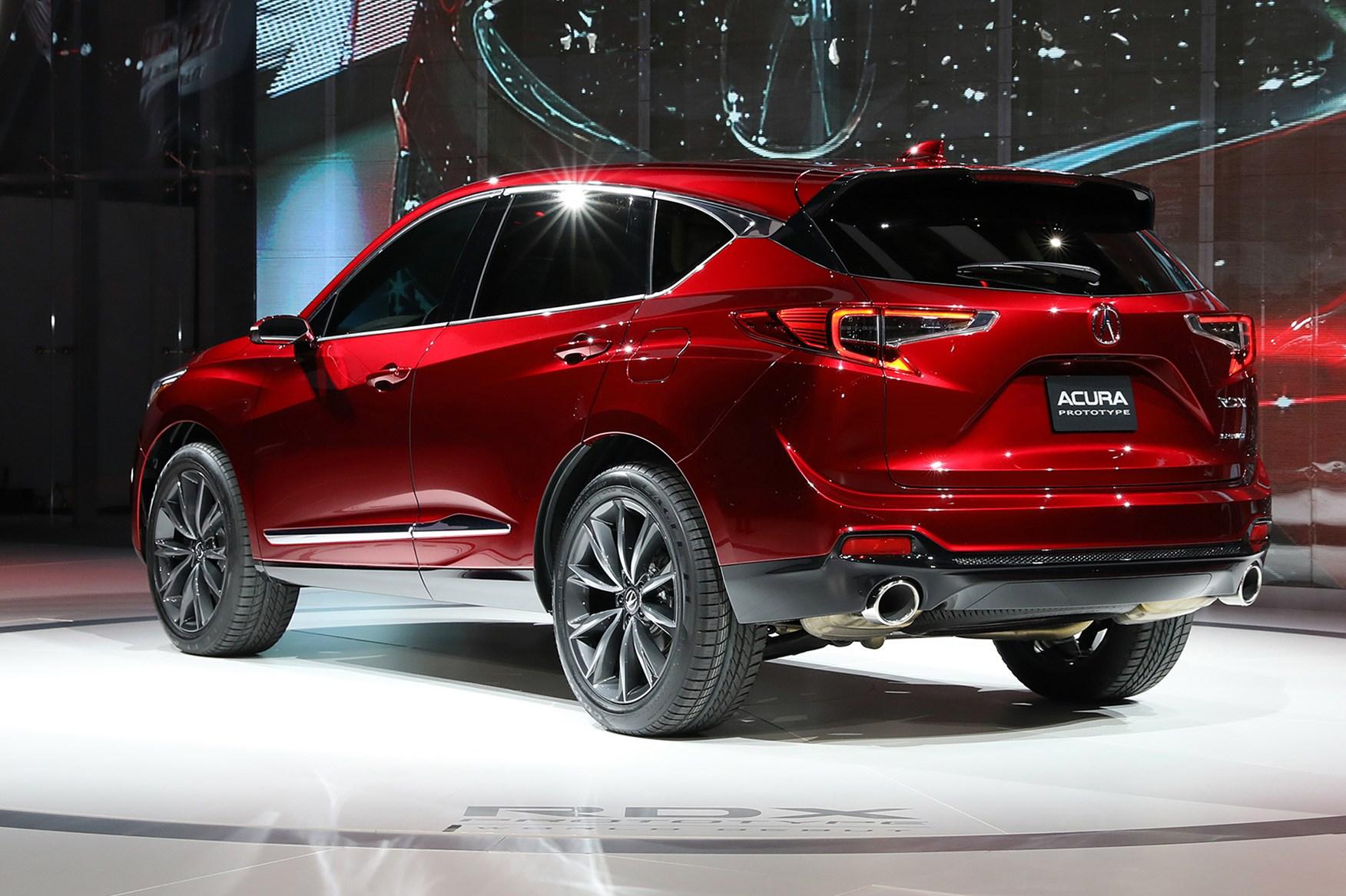 Acura RDX Prototype at 2018 Detroit motor show | CAR Magazine