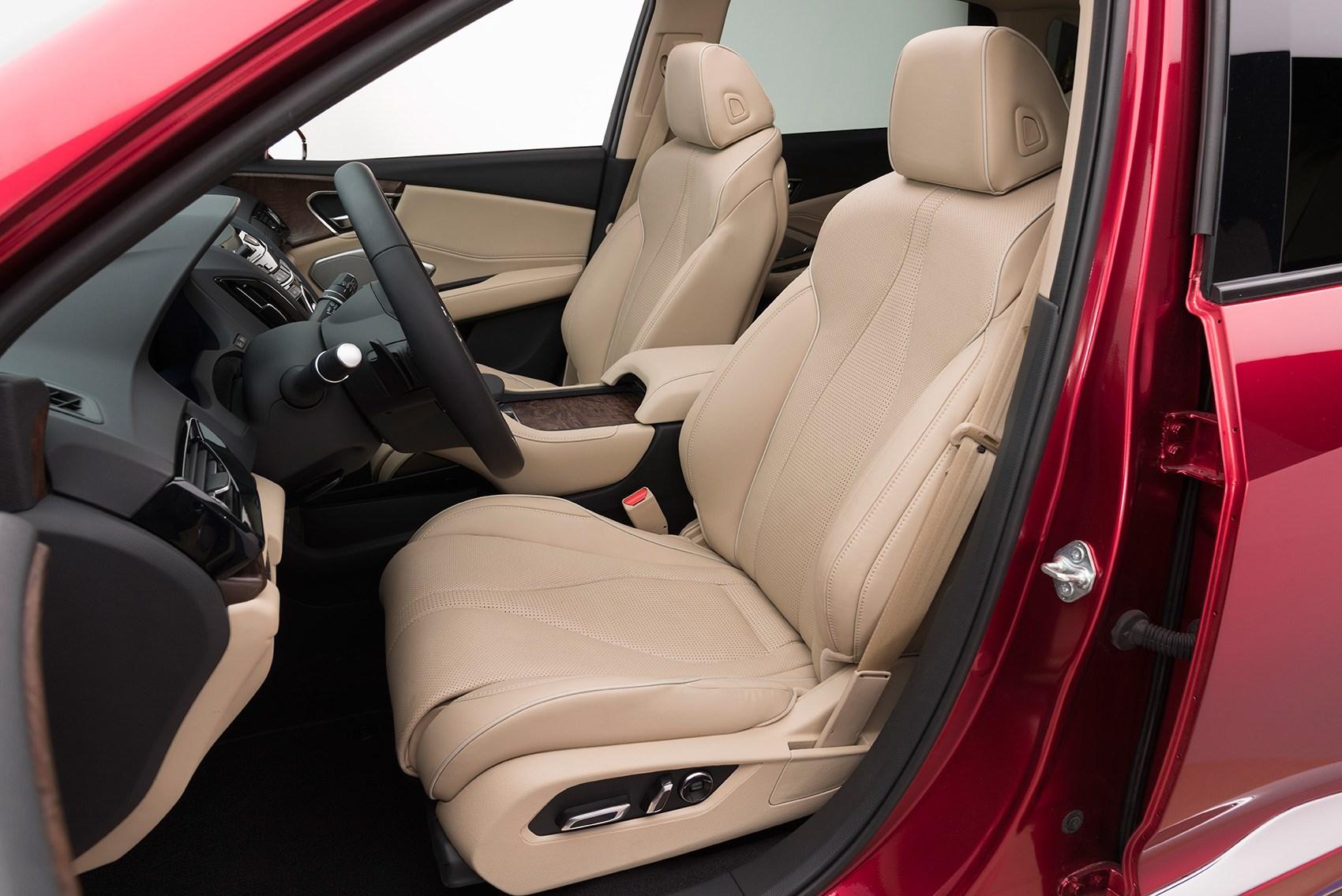 Acura RDX Prototype At Detroit Motor Show CAR Magazine - Acura rdx seat covers