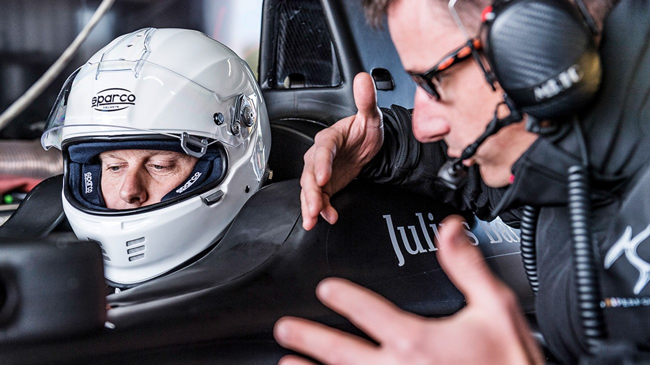 CAR magazine's Ben Barry gets taught how DS Virgin Racing's Formula E race car works