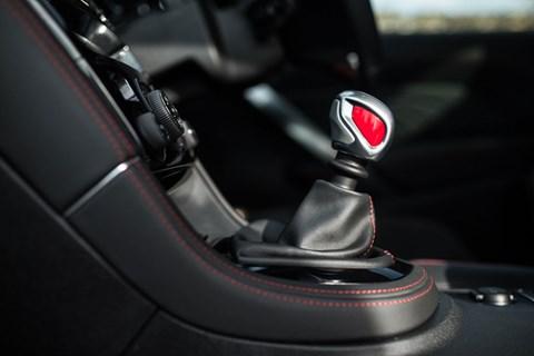 Peugeot RCZ R gearknob