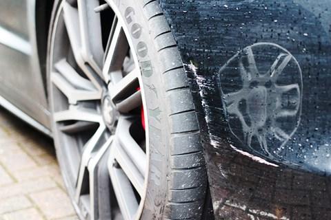 CAR magazine's Peugeot RCZ R gets a scraped nose
