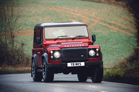 Land Rover Defender Works V8 70th Edition