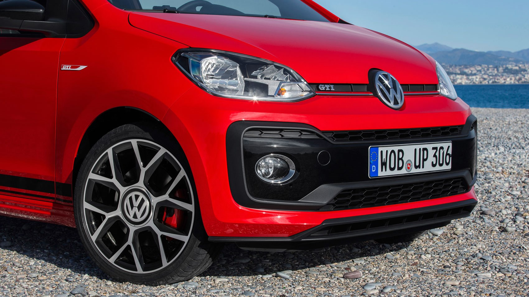vw up gti 2018 review big performance on a little budget by car magazine. Black Bedroom Furniture Sets. Home Design Ideas