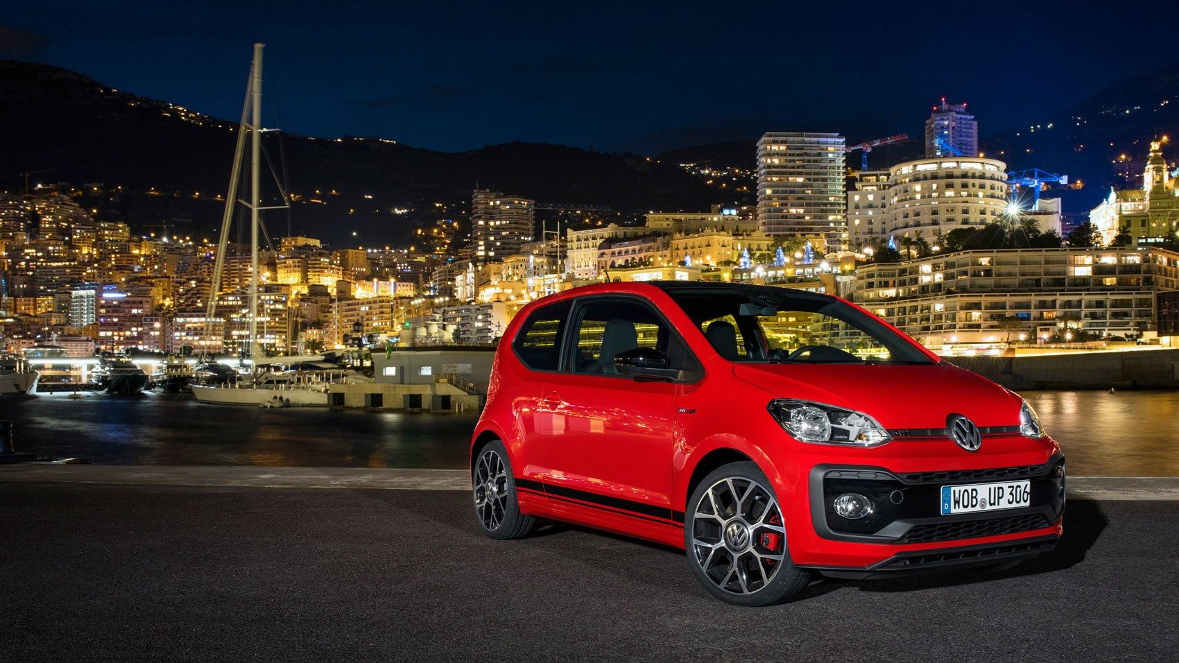 vw up gti 2018 review big performance on a little. Black Bedroom Furniture Sets. Home Design Ideas