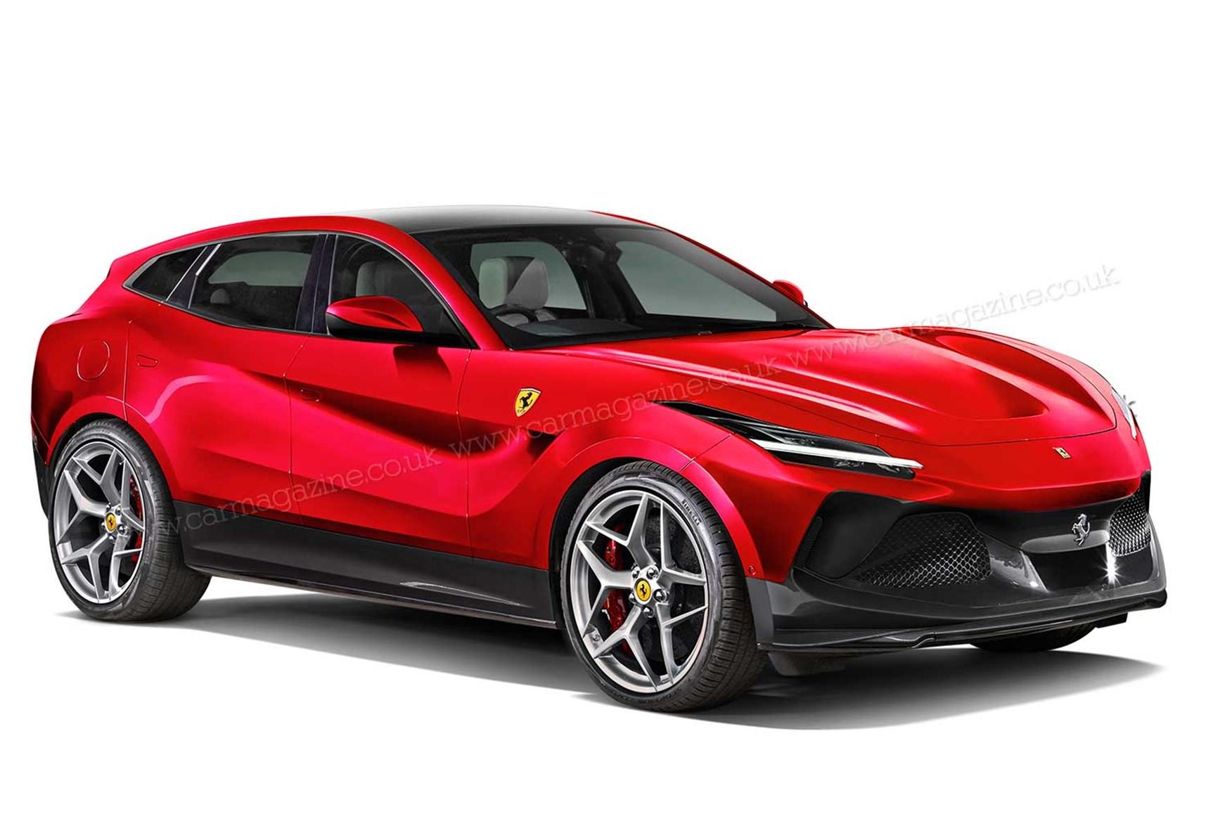 Ferrari Purosangue Meet Maranello S Upcoming Suv Car Magazine
