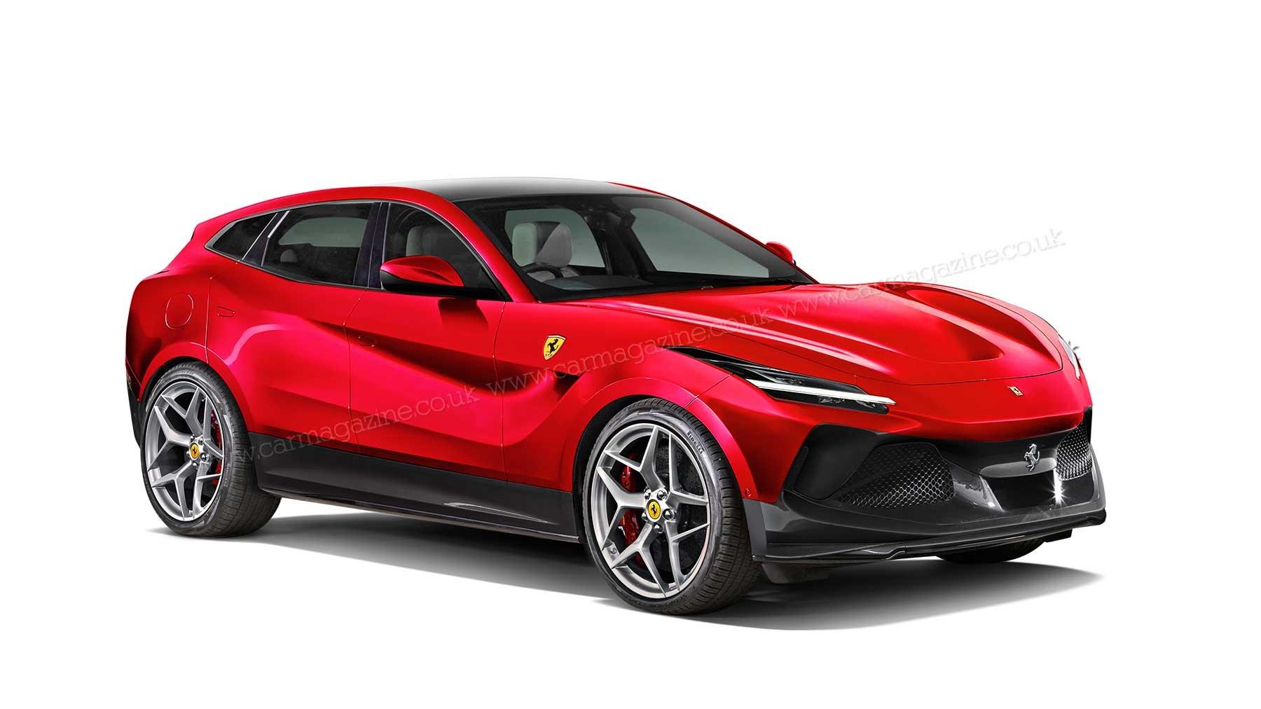 Ferrari Purosangue Suv Revealed Car Magazine