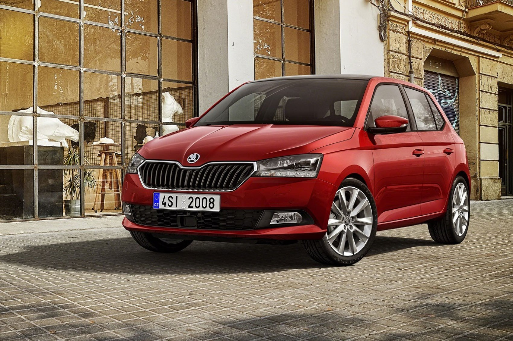 skoda fabia hatchback 2018 facelift price specs and interior car magazine. Black Bedroom Furniture Sets. Home Design Ideas