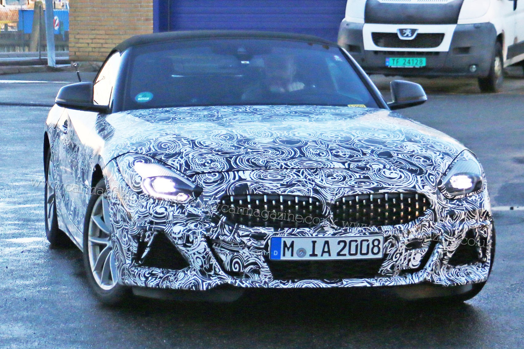 New Bmw Z4 First Pictures Of Roadster Leak Car Magazine