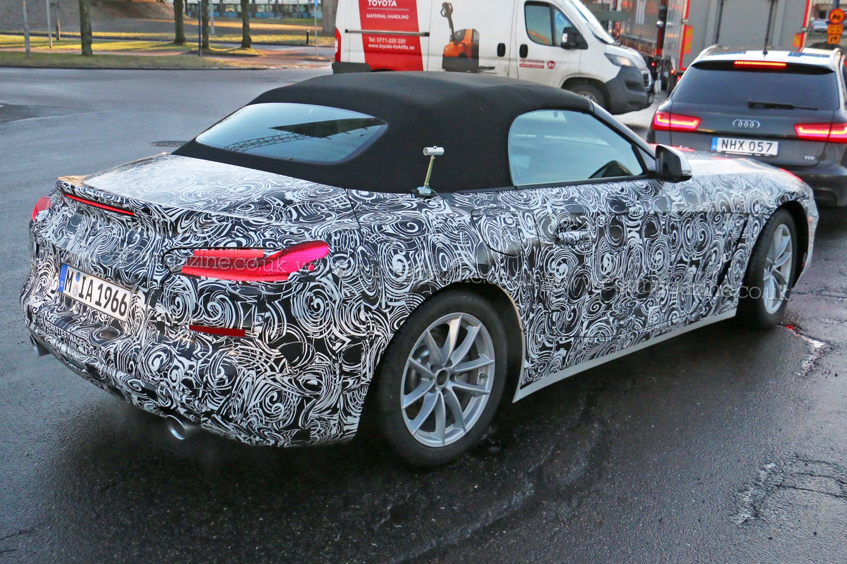... New BMW Z4 Rear ...