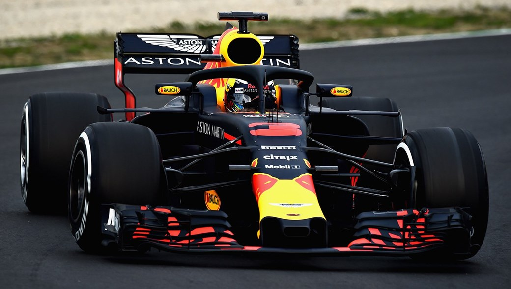 Called The RB14, The New Red Bull Will Be Driven By Max Verstappen And  Daniel Ricciardo, And Represents One Of Earliest Launches Ever From The  Milton ...