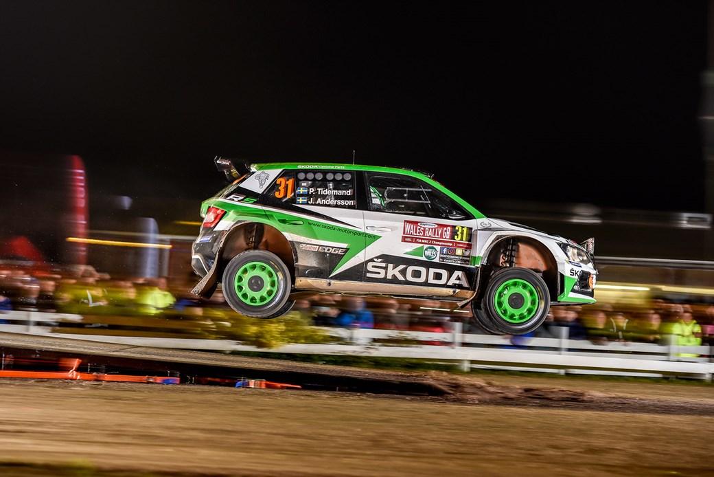 Skoda Fabia R5 rally car ride review by CAR Magazine