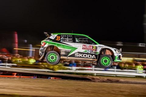 Skoda Fabia R5 rally car ride review