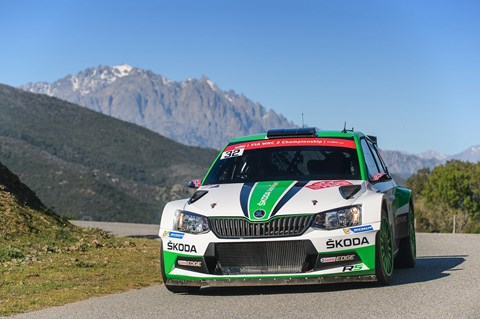 What's a WRC rally car like to ride in? This!