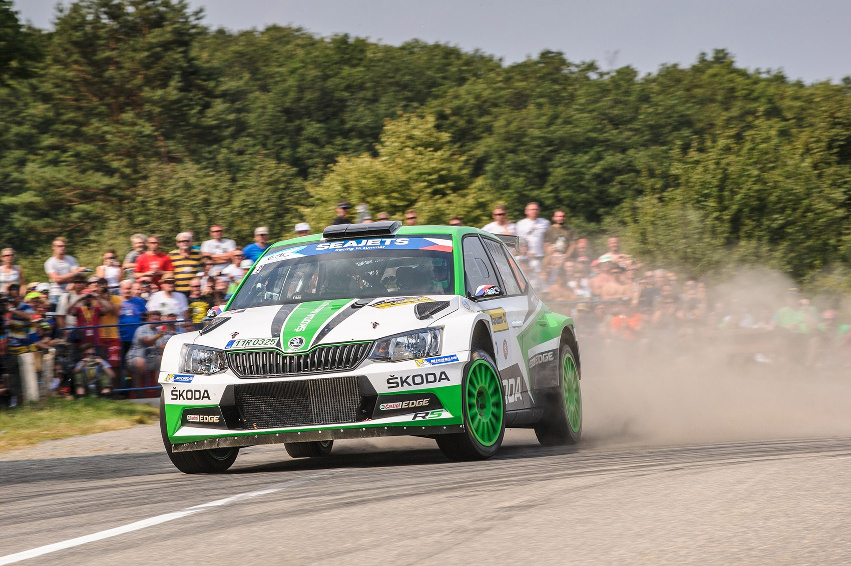 Skoda Fabia R5 Rally Car Ride Review Car Magazine