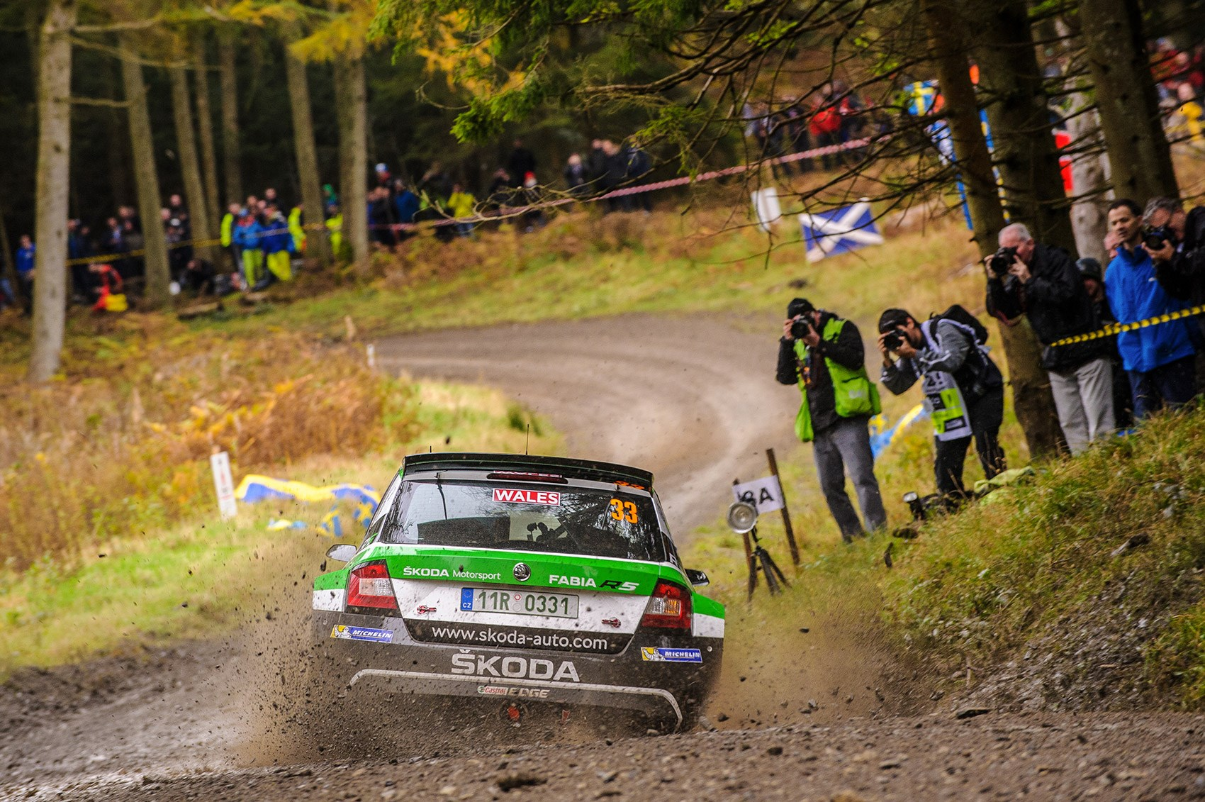 Skoda Fabia R5 rally car ride review