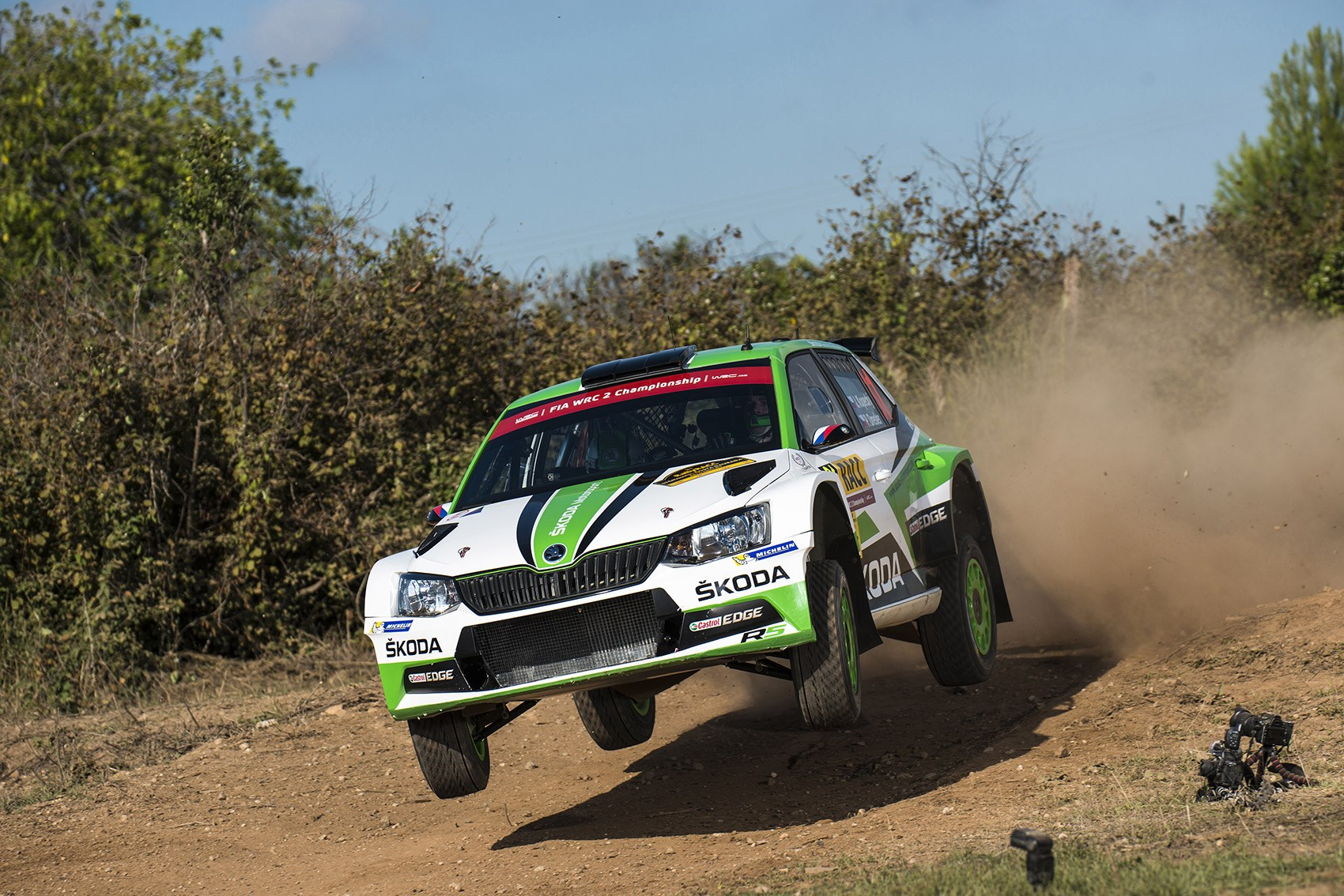 Skoda Fabia R5 rally car ride review by CAR Magazine