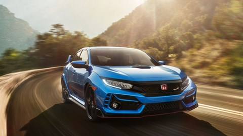 Honda Civic Type R: newly scrubbed-up for 2020 Swiss car show