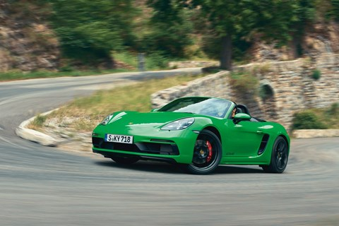 Porsche 718 Boxster GTS (and Cayman) are coming to Geneva 2020
