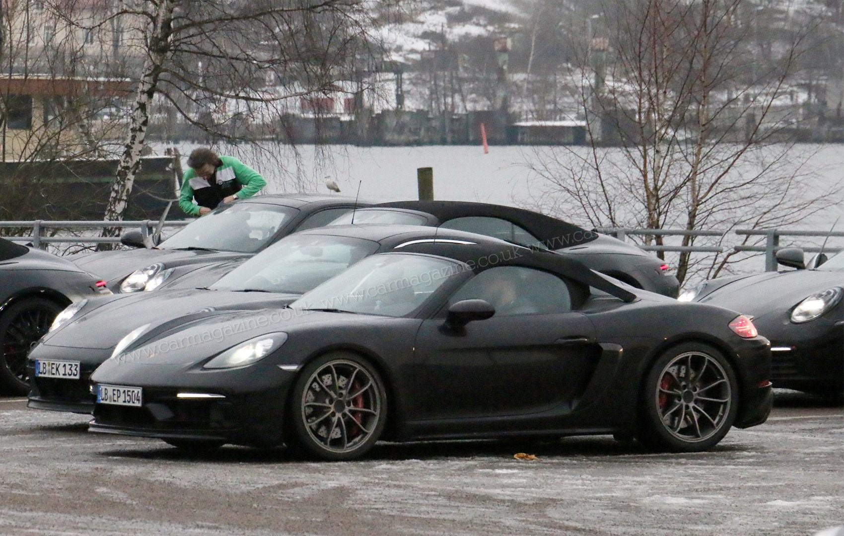 New 2018 Porsche 718 Boxster Spyder Spy Pictures News