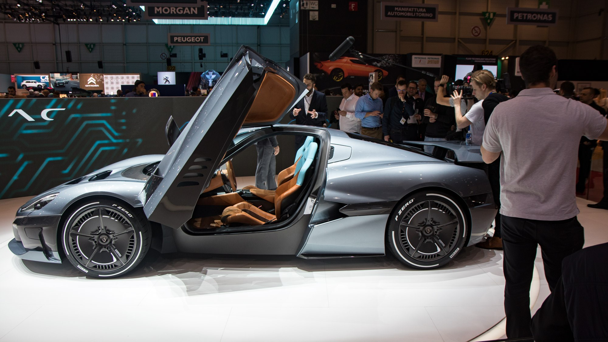 rimac ctwo the allelectric hypercar that wants to drive