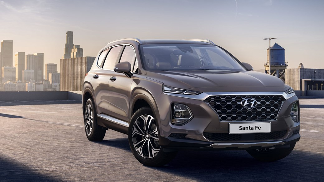 New Hyundai Santa Fe SUV: first pictures drop of new seven-seat 4x4