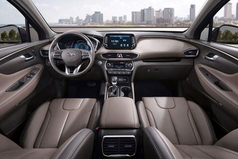 Hyundai Santa Fe interior 2018
