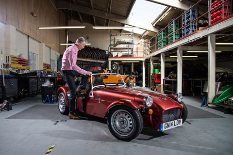 CAR magazine's long-term Caterham Seven 160