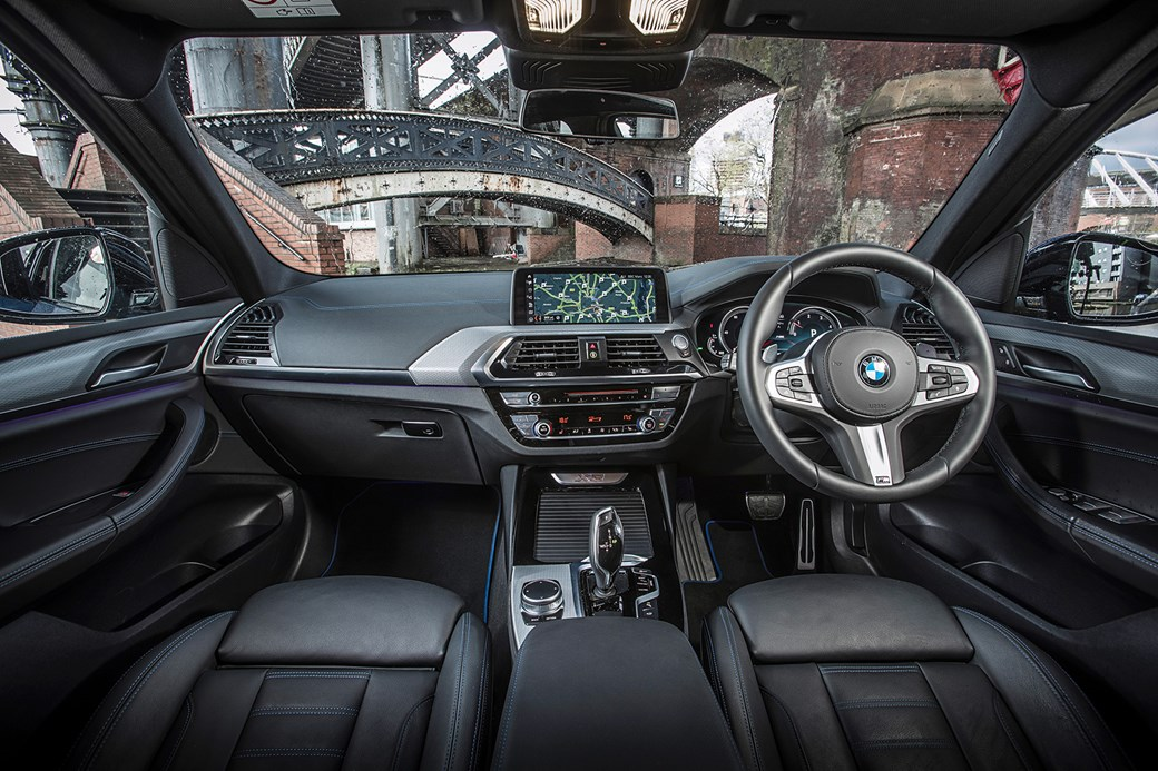 BMW X3 interior and cabin: a class act