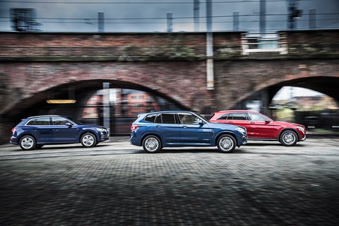 New 2018 BMW X3 vs Audi Q5 vs Mercedes-Benz GLC