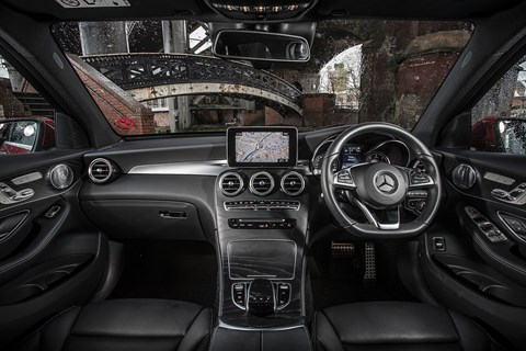 Mercedes GLC interior and cabin
