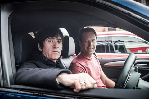 Johnny Marr and Ben Barry: the former Smiths guitarist and DJ bumped into us on our Manchester photoshoot