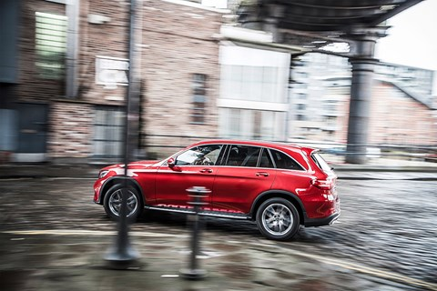 Mercedes-Benz GLC class: it's the most estate-like, great for relaxed cruising