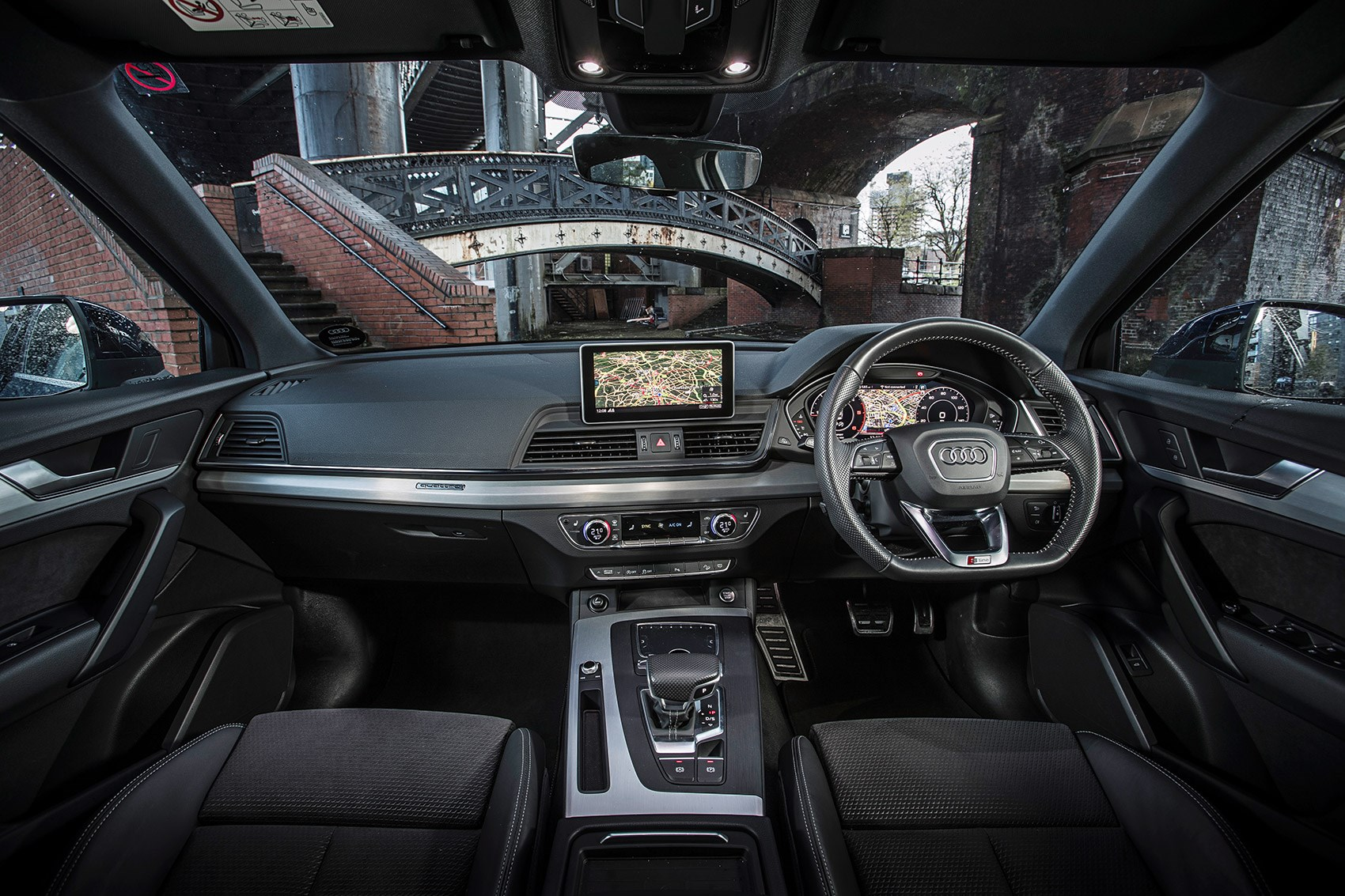 We Decide 2018u0027s Best Premium SUV Audi Q5 Cabin: Materials And Fit And  Finish Precision Executed ...