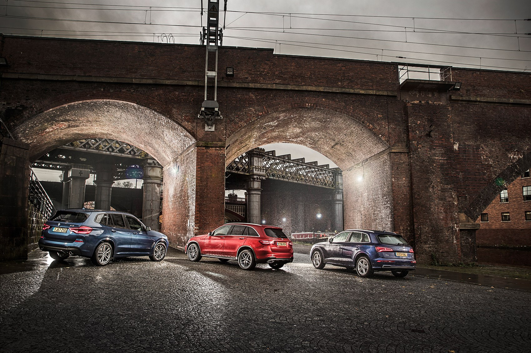 New Bmw X3 Vs Audi Q5 Vs Mercedes Glc Triple Test Review 2018 Car Magazine