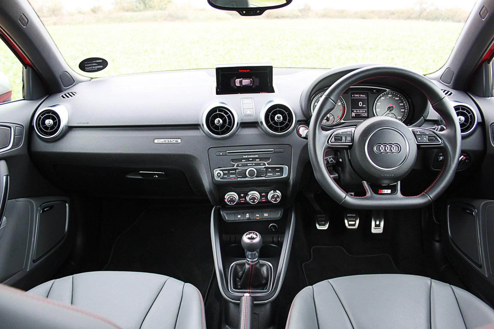 Audi s1 sportback 2015 long term test review by car magazine for Audi a1 sportback interieur