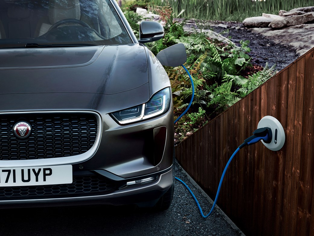 Jaguar I Pace Electric Car
