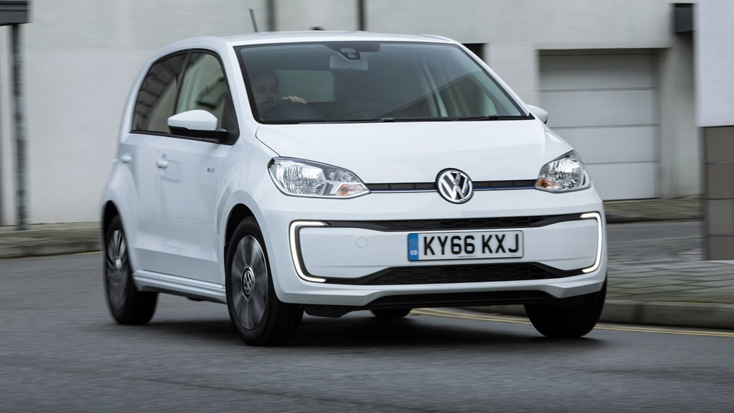 Volkswagen E Up The Electric Version Of City Car
