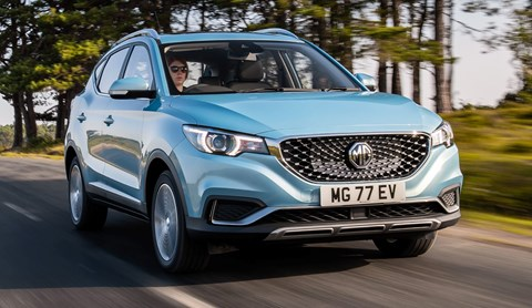 MG ZS EV all-electric SUV