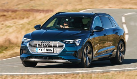 Audi e-Tron: best electric SUVs