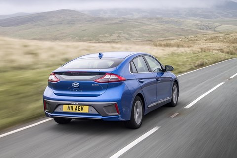 Hyundai Ioniq Electric: one of the UK's best EVs